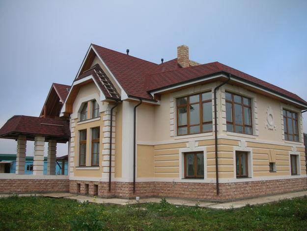 отделка коттеджей в москве